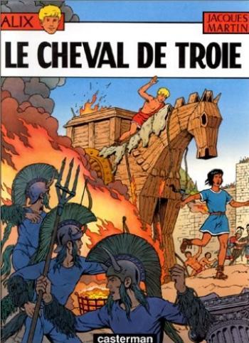Couverture de l'album Alix - 19. Le Cheval de Troie
