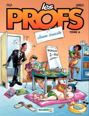 Couverture de l'album Les Profs - 6. Classe touriste