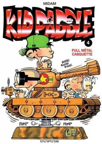 Couverture de l'album Kid Paddle - 4. Kid Paddle, tome 4 : Full métal casquette