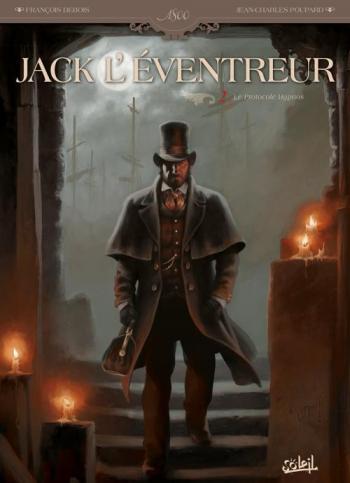 Couverture de l'album Jack l'éventreur - 2. Le Protocole Hypnos