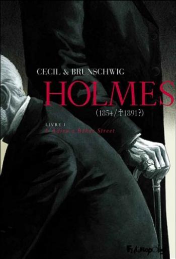 Couverture de l'album Holmes (1854/1891 ?) - 1. L'Adieu à Baker Street
