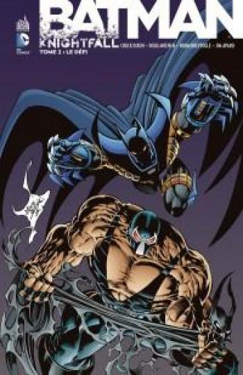 Couverture de l'album Batman - Knightfall - 2. Le défi