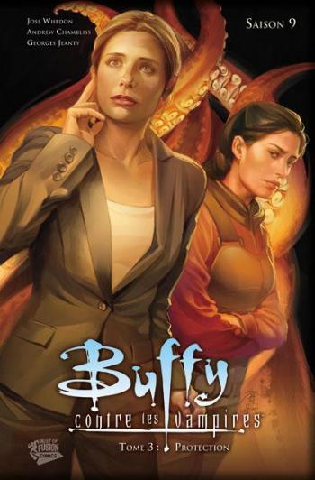 Couverture de l'album Buffy contre les vampires (Saison 9) - 3. Protection