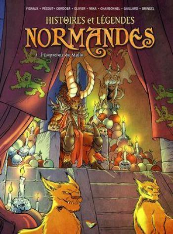 Couverture de l'album Histoires et légendes normandes - 1. L'Empreinte du malin