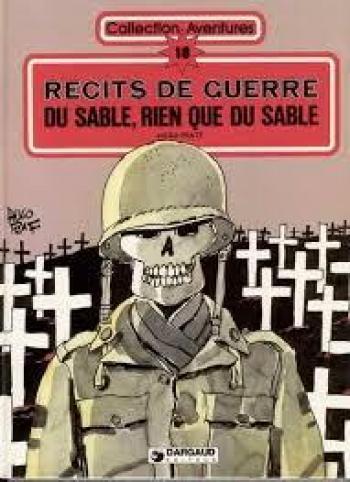 Couverture de l'album Du Sable, rien que du sable (Récits de guerre) (One-shot)