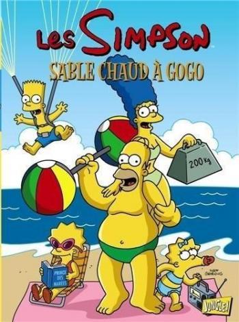 Couverture de l'album Les Simpson (Jungle) - 21. Sable chaud à gogo