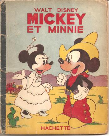 Couverture de l'album Mickey (Hachette) - 24. Mickey et Minnie