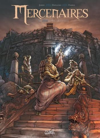 Couverture de l'album Mercenaires - 3. Ju-oeil-de-dragon