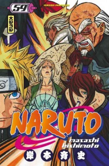 Couverture de l'album Naruto - 59. Tome 59