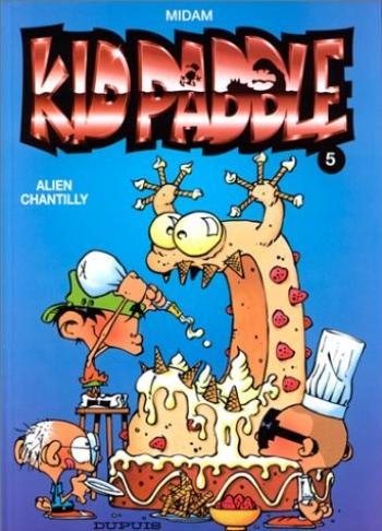 Couverture de l'album Kid Paddle - 5. Alien Chantilly