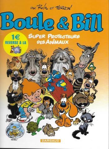 Couverture de l'album Boule & Bill (dès 2000) - HS. Super protecteurs des animaux
