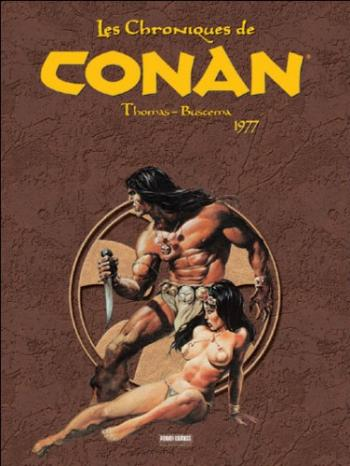 Couverture de l'album Les Chroniques de Conan - 4. 1977