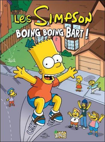 Couverture de l'album Les Simpson (Jungle) - 5. Boing Boing Bart