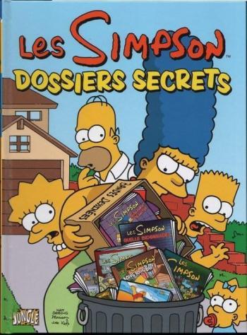 Couverture de l'album Les Simpson (Jungle) - 7. Dossiers secrets