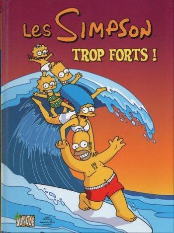 Couverture de l'album Les Simpson (Jungle) - 6. Trop forts !