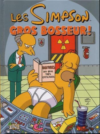 Couverture de l'album Les Simpson (Jungle) - 8. Gros bosseur !