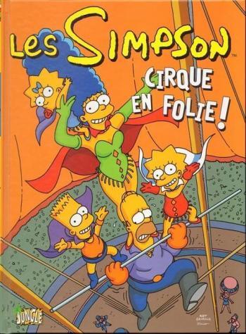 Couverture de l'album Les Simpson (Jungle) - 11. Cirque en folie !