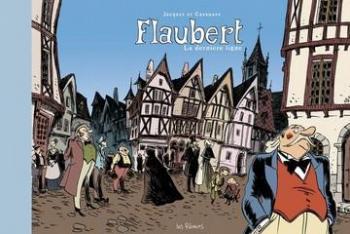 Couverture de l'album Flaubert, la dernière ligne (One-shot)