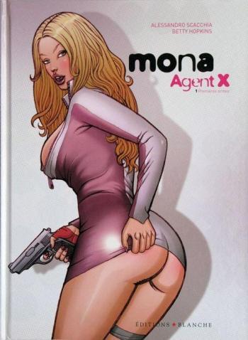 Couverture de l'album Mona Agent X - 1. Premières armes