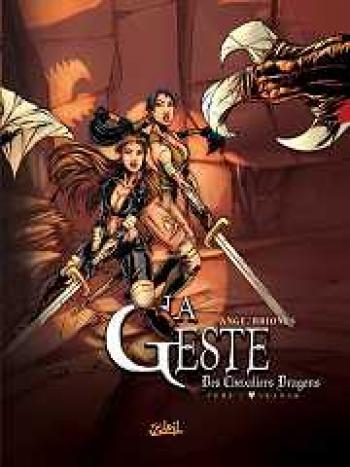 Couverture de l'album La Geste des Chevaliers Dragons - 2. Akanah
