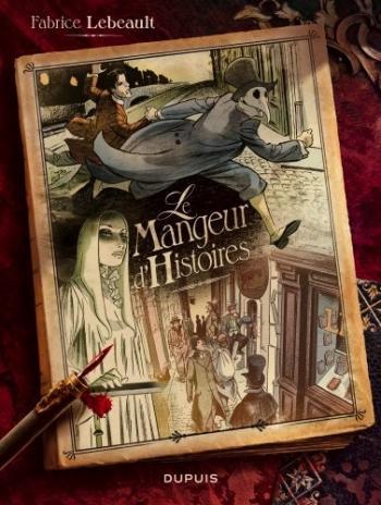Couverture de l'album Le mangeur d'histoires (One-shot)
