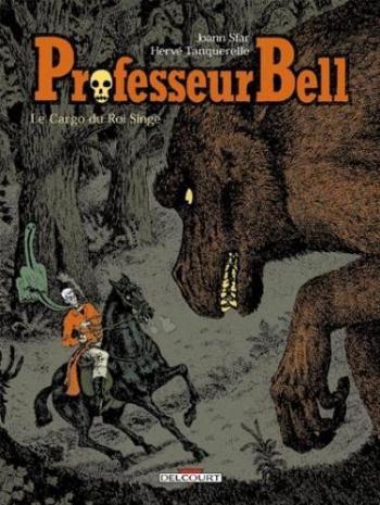 Couverture de l'album Professeur Bell - 3. Le cargo du roi singe
