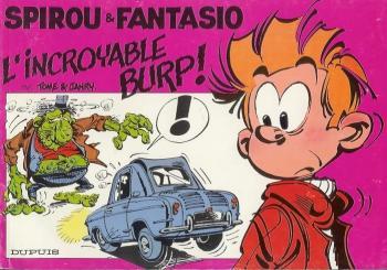 Couverture de l'album Spirou et Fantasio - HS. L'Incroyable Burp