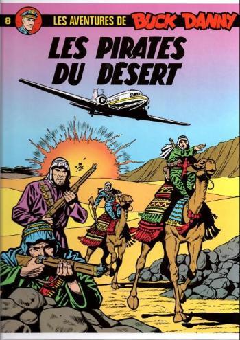 Couverture de l'album Buck Danny - 8. Les Pirates du désert
