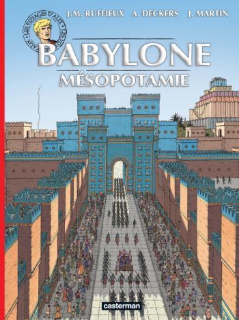 Couverture de l'album Les Voyages d'Alix - 35. Babylone - Mésopotamie