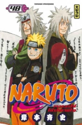 Couverture de l'album Naruto - 48. Tome 48