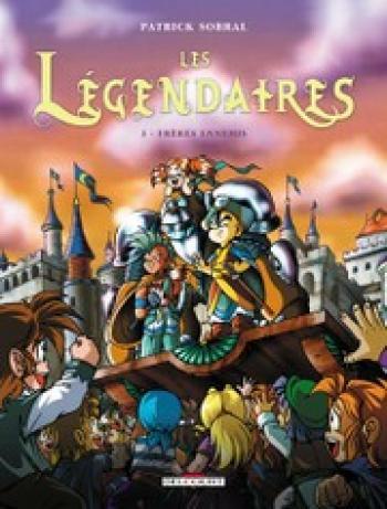 Couverture de l'album Les Légendaires - 3. Frères ennemis