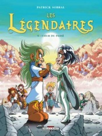 Couverture de l'album Les Légendaires - 5. Coeur du passé