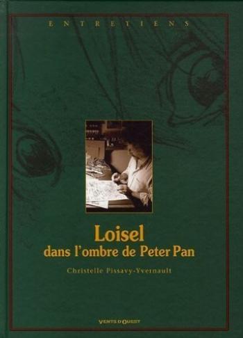 Couverture de l'album Peter Pan - HS. Loisel, dans l'ombre de Peter Pan