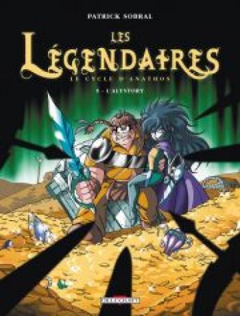 Couverture de l'album Les Légendaires - 9. Le cycle d'Anathos : L'Alystory