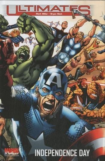 Couverture de l'album Ultimates (Marvel Deluxe) - 3. Independance Day