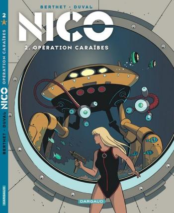 Couverture de l'album Nico - 2. Opération Caraïbes