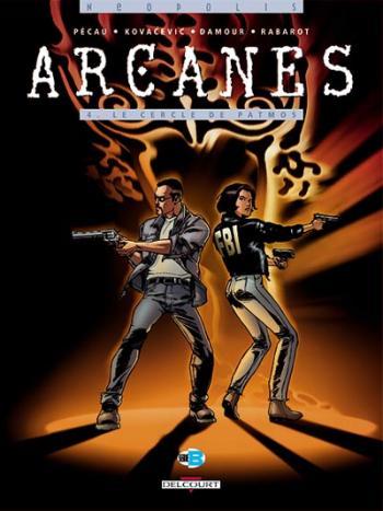 Couverture de l'album Arcanes - 4. Le Cercle de Patmos 1/2