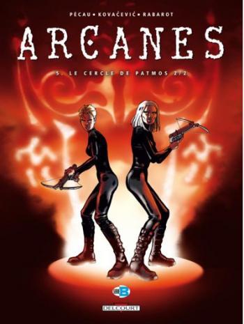 Couverture de l'album Arcanes - 5. Le Cercle de Patmos 2/2