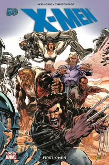 Couverture de l'album X-Men (100% Marvel) - 10. First X-Men