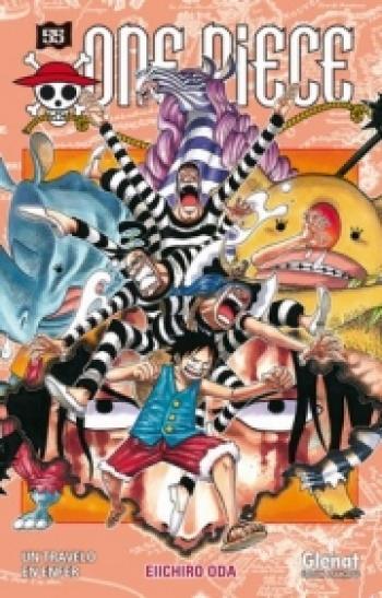 Couverture de l'album One Piece - 55. Un travelo en enfer