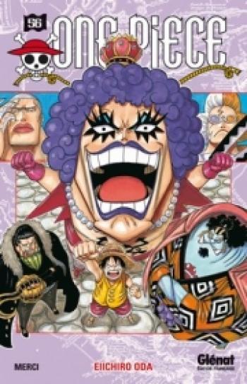 Couverture de l'album One Piece - 56. Merci