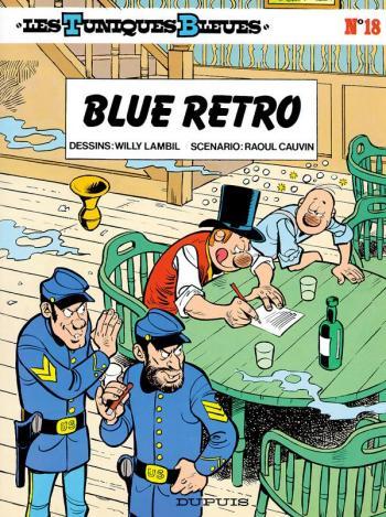 Couverture de l'album Les Tuniques bleues - 18. Blue retro