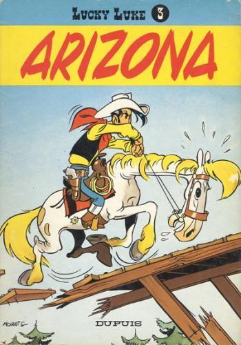 Couverture de l'album Lucky Luke - 3. Arizona