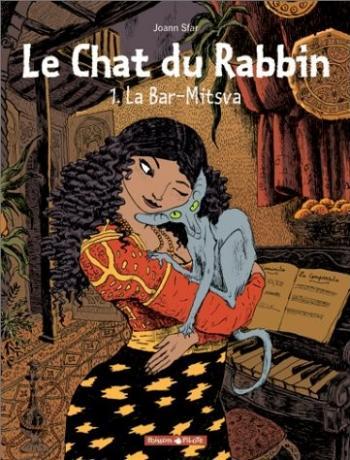 Couverture de l'album Le Chat du Rabbin - 1. La Bar-Mitsva
