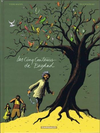 Couverture de l'album Les Cinq Conteurs de Bagdad (One-shot)