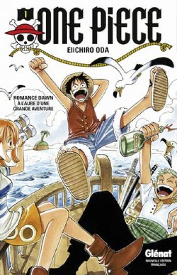 Couverture de l'album One Piece - 1. Romance Dawn - A l'aube d'une grande aventure
