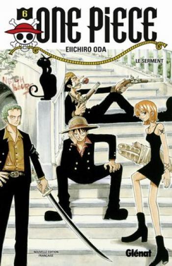 Couverture de l'album One Piece - 6. Le Serment