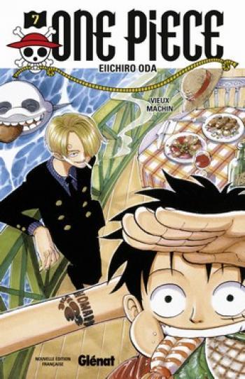 Couverture de l'album One Piece - 7. Vieux machin