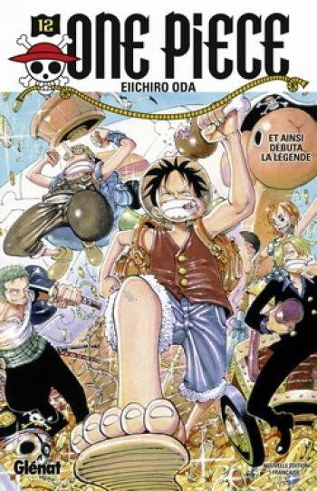 Couverture de l'album One Piece - 12. Et ainsi débuta la légende