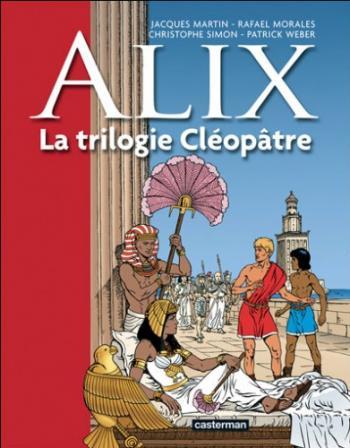 Couverture de l'album Alix - HS. La trilogie Cléopâtre